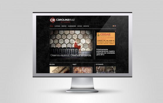 Website Carolina Ruiz Studio